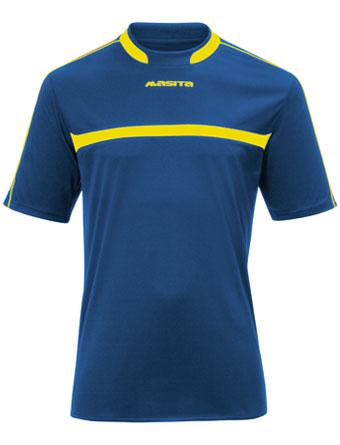SportShirt Brasil  Royal Blue / Yellow