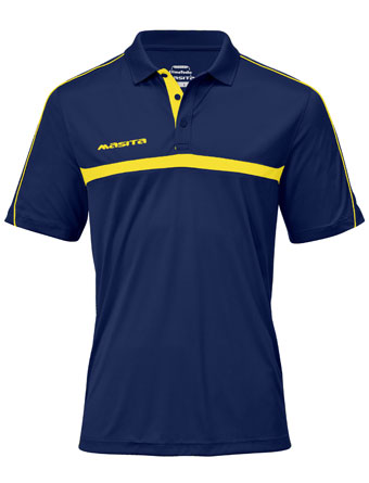 Polo Brasil  Navy Blue / Yellow