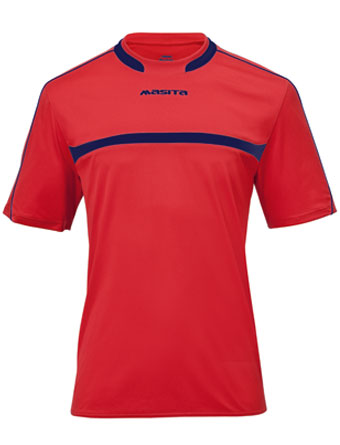SportShirt Brasil  Red / Navy Blue