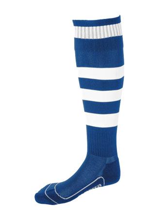 Socks Striped Barca  Royal Blue / White