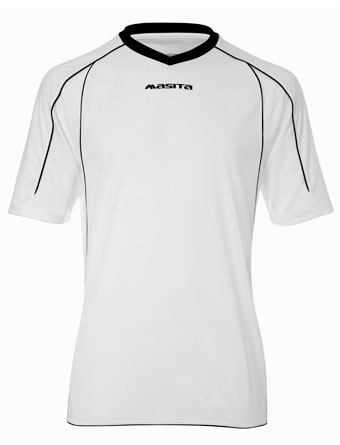 SportShirt Striker  White / Black