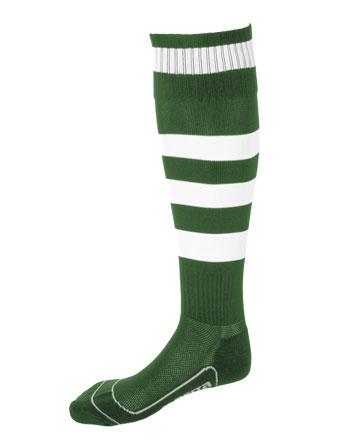 Socks Striped Barca  Green / White