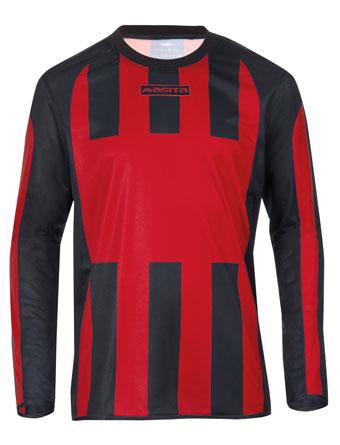 Long Sleeve SportShirt Inter  Red / Black