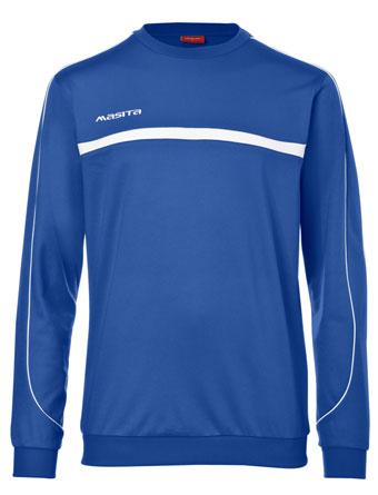 Sweater Brasil  Royal Blue / White