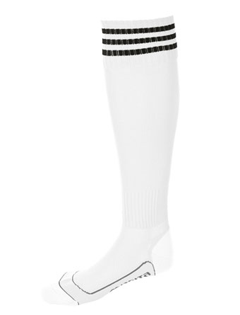 Socks 3 Stripes Liverpool  White / Black