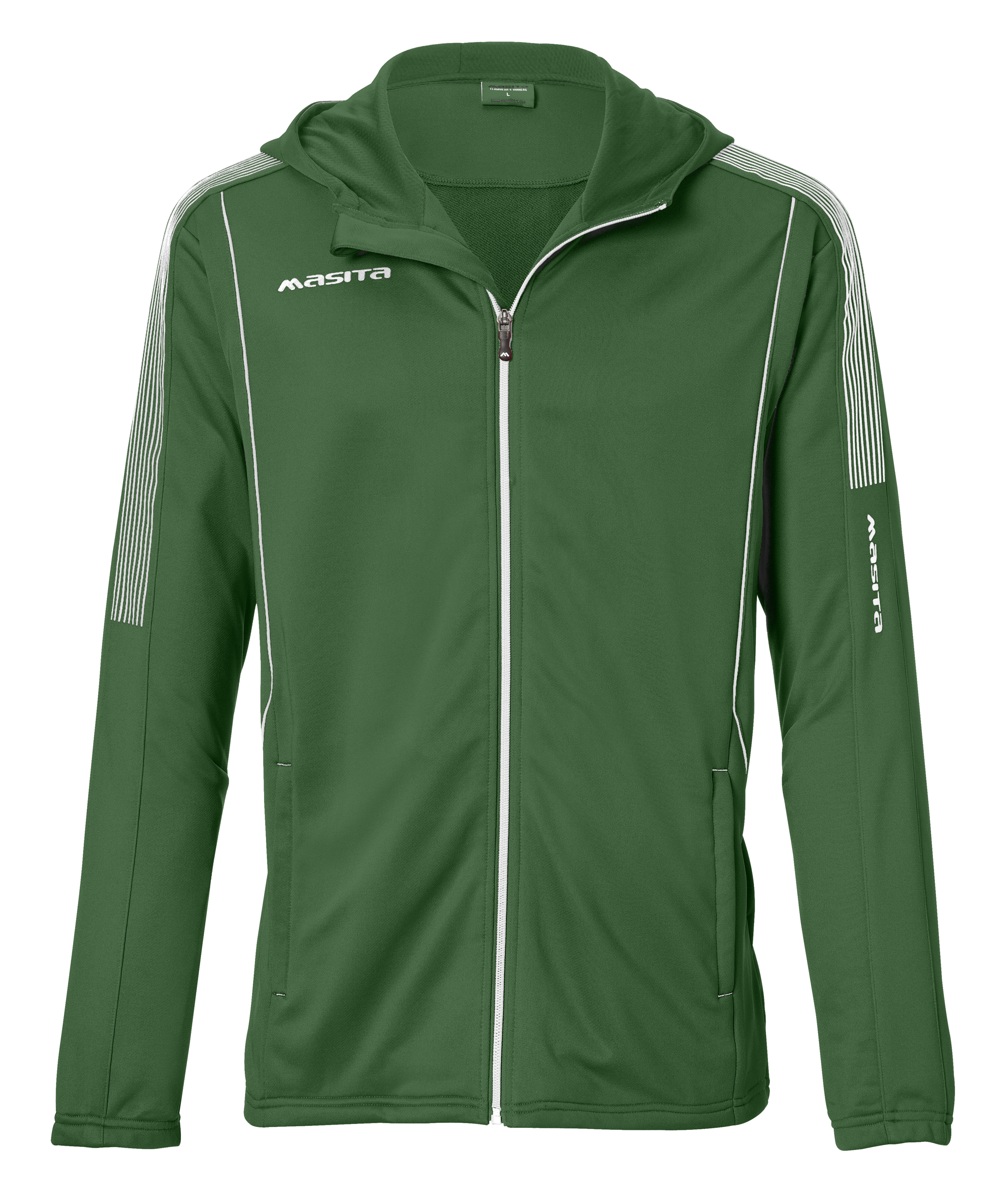 Hooded Jacket Barca  Green / White