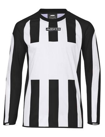 Long Sleeve SportShirt Inter  White / Black