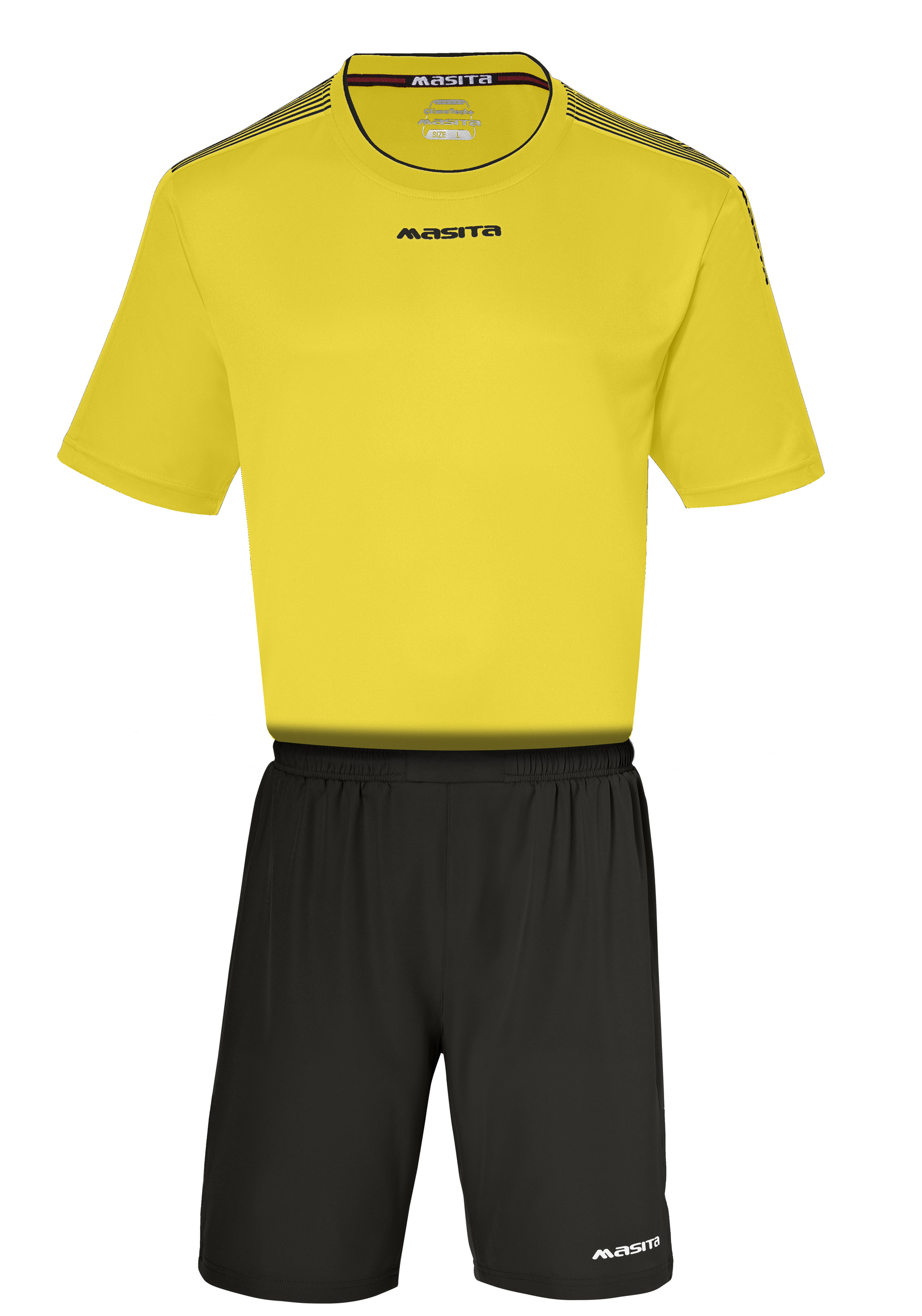 SportShirt Sevilla  Yellow / Black