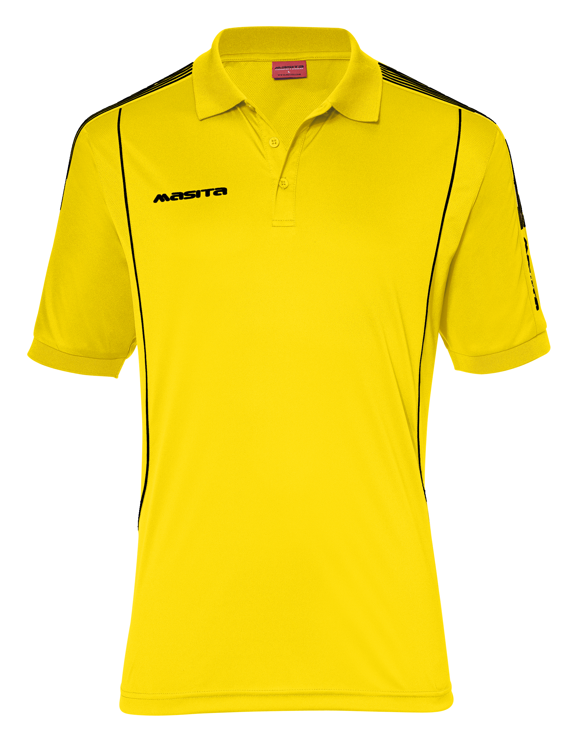 Polo Barca  Yellow / Black