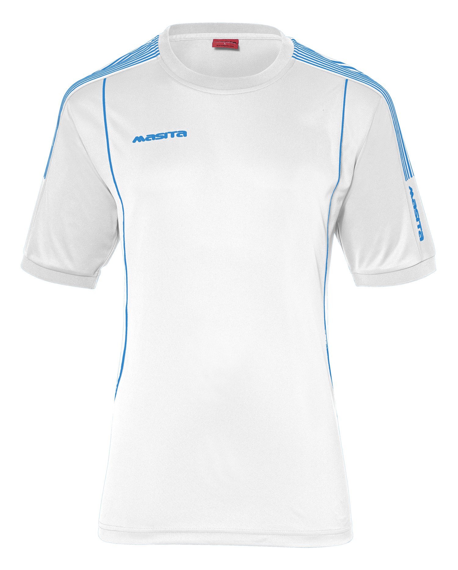 T-Shirt Barca  White / Sky Blue