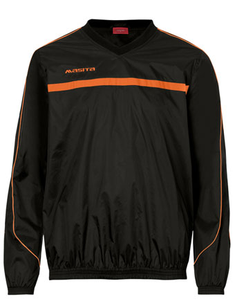 Rain-Sweater Brasil  Black / Orange