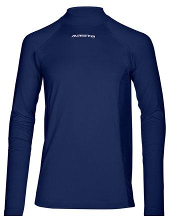 Long Sleeve T-Shirt Skin  Navy Blue