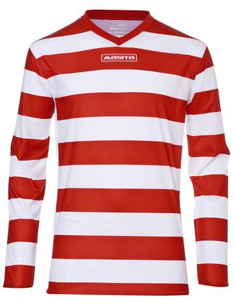 Long Sleeve SportShirt Celtic  Red / White