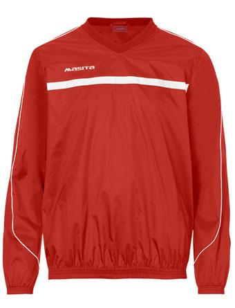 Rain-Sweater Brasil  Red / White