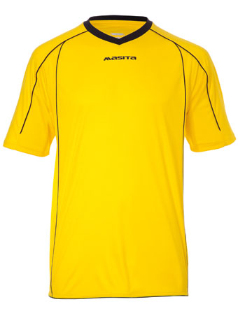 SportShirt Striker  Yellow / Black