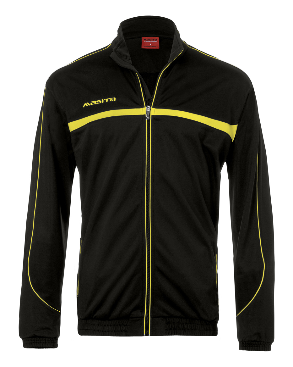 Polyester Jacket Brasil  Black / Yellow
