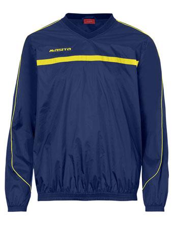 Rain-Sweater Brasil  Navy Blue / Yellow