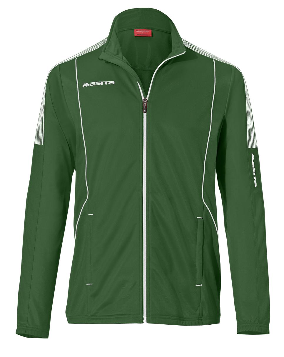 Presentation Jacket Barca  Green / White