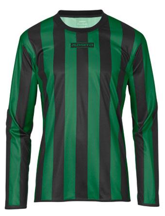 Long Sleeve SportShirt Barca  Black / Green