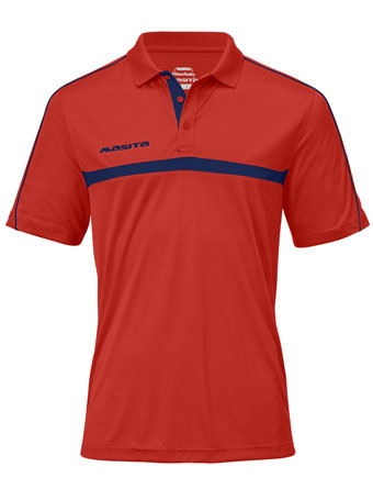 Polo Brasil  Red / Navy Blue