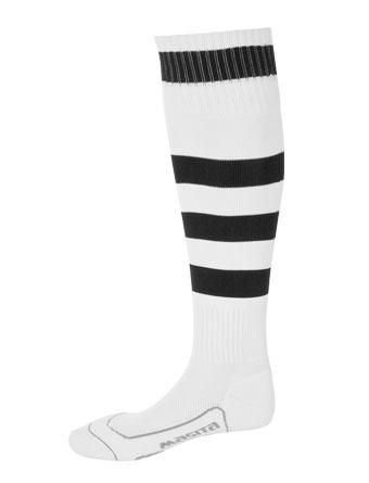 Socks Striped Barca  White / Black