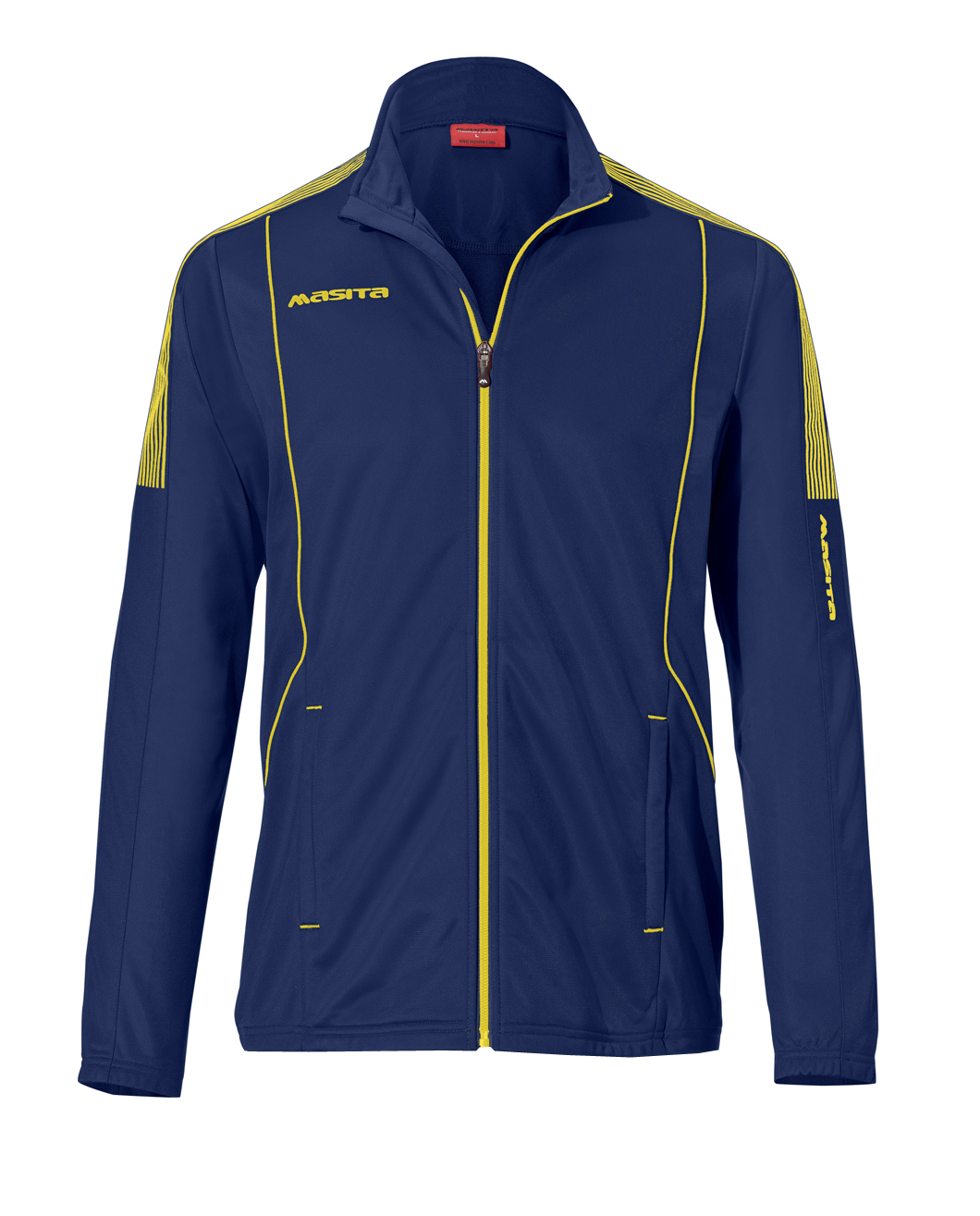 Polyester Jacket Barca  Navy Blue / Yellow