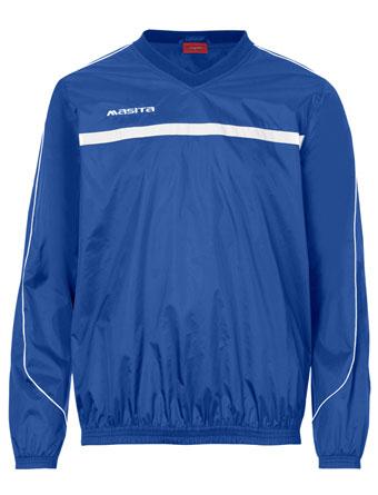 Rain-Sweater Brasil  Royal Blue / White