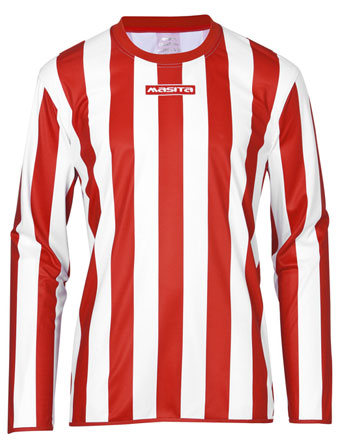 Long Sleeve SportShirt Barca  Red / White