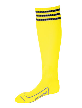 Socks 3 Stripes Liverpool  Yellow / Black