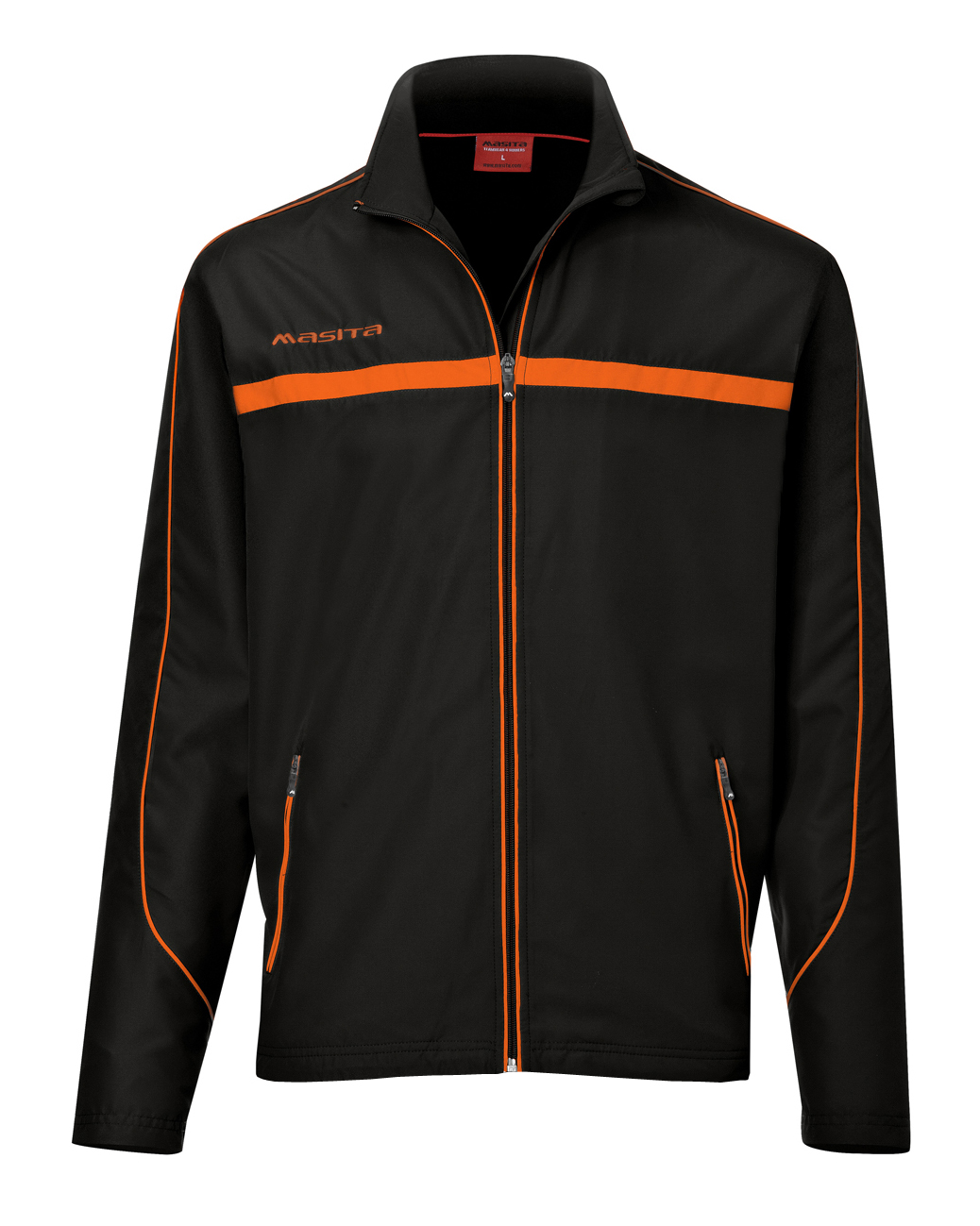 Presentation Jacket Brasil  Black / Orange