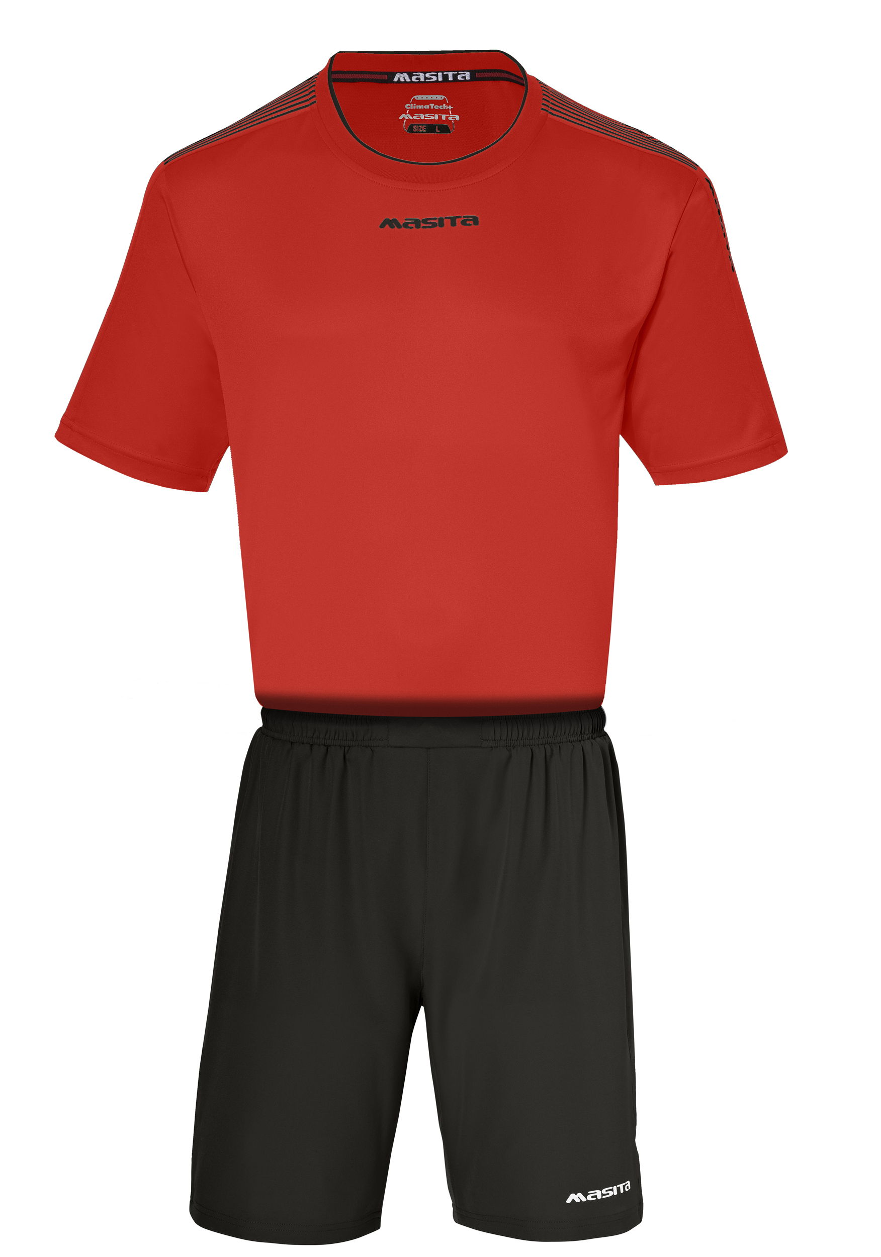 SportShirt Sevilla  Red / Black