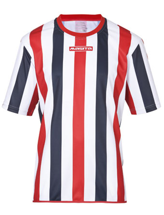 SportShirt Barca  White / Navy Blue / Red
