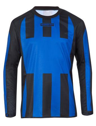 Long Sleeve SportShirt Inter  Royal Blue / Black