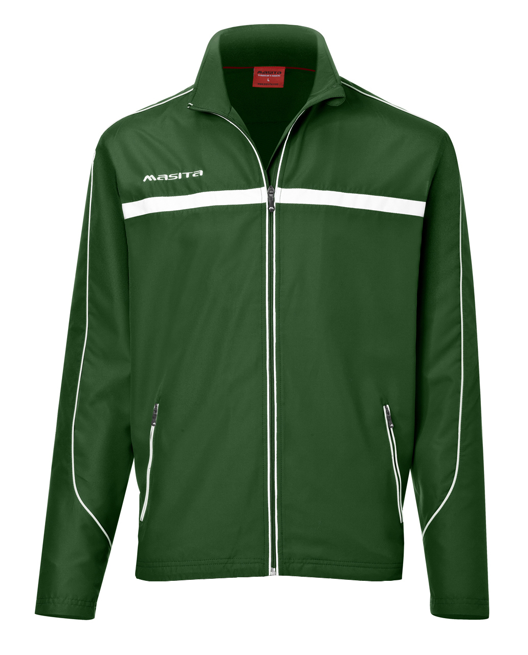 Presentation Jacket Brasil  Green / White