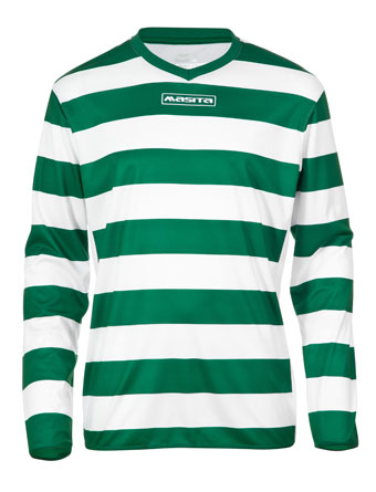 Long Sleeve SportShirt Celtic  Green / White