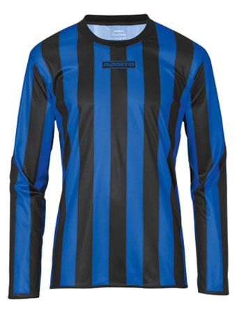 Long Sleeve SportShirt Barca  Black / Royal Blue