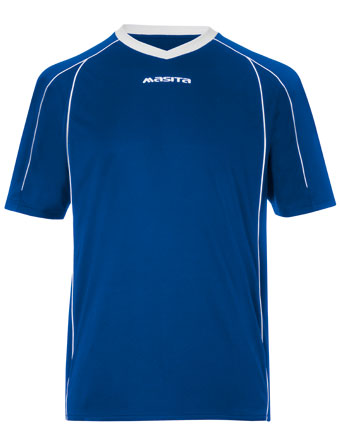 SportShirt Striker  Royal Blue / White